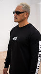 Endure Long Sleeve Tee Black by LIVIN