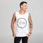 Halo Tank White by LIVIN