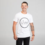 Halo Tee White by LIVIN