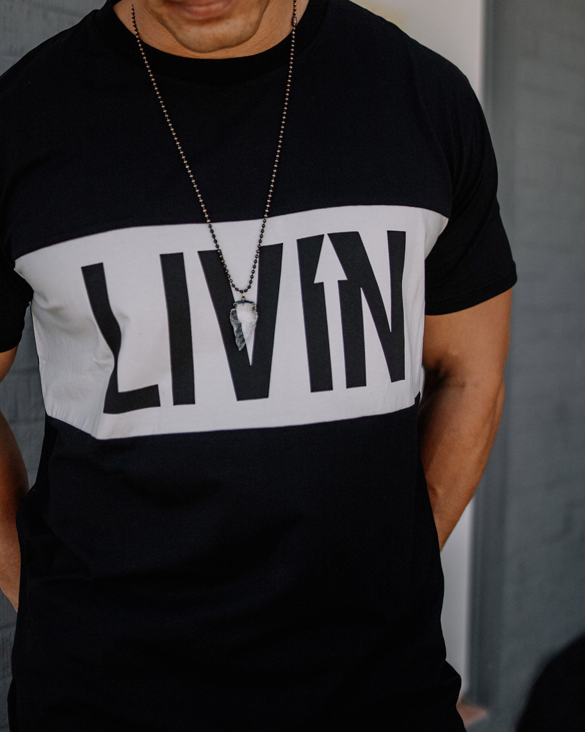 Statement Tee by LIVIN