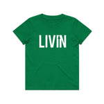 Kids Tee Green by LIVIN