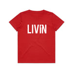 Kids Tee Red by LIVIN