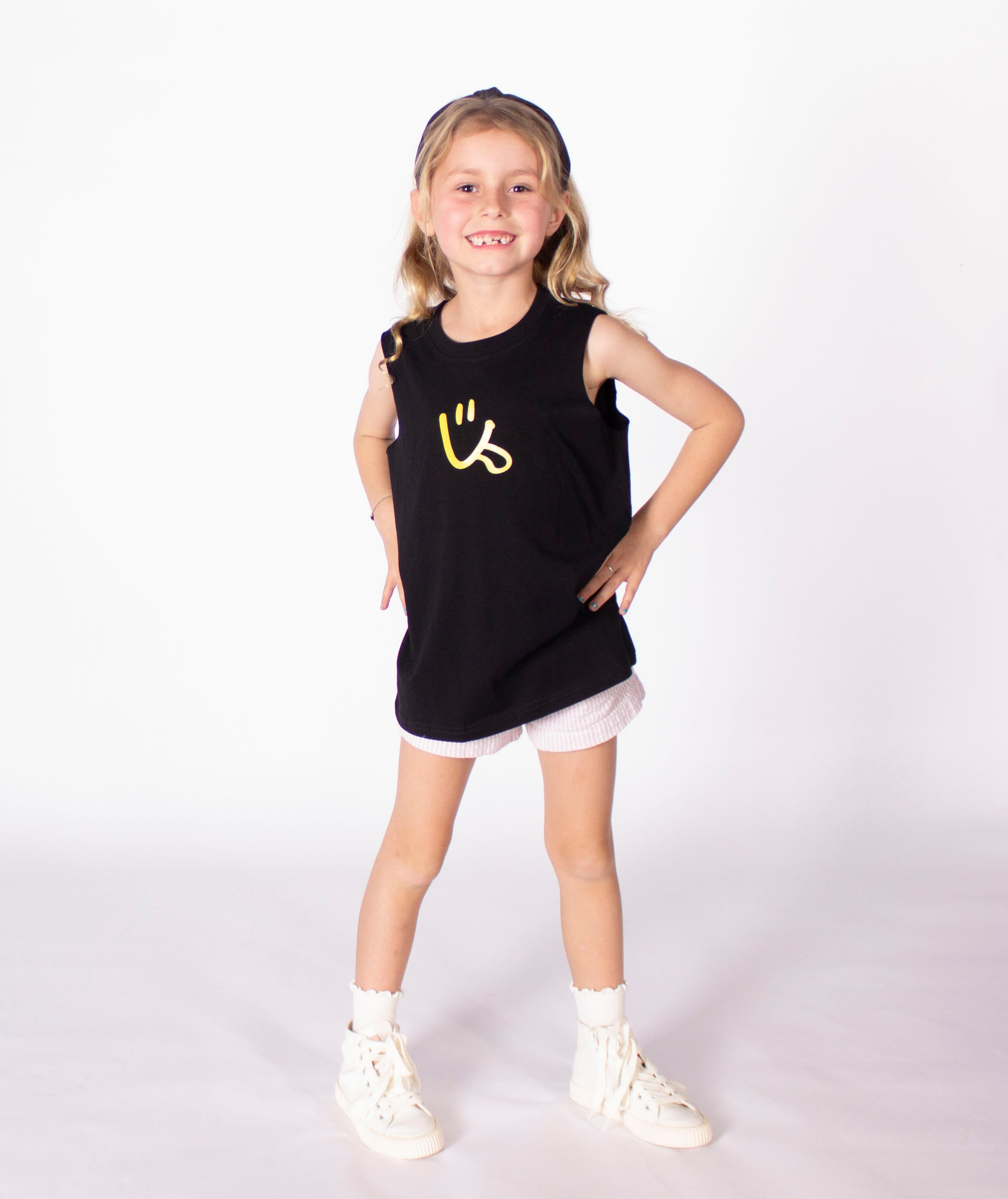 Kids Dwayney Tank by LIVIN