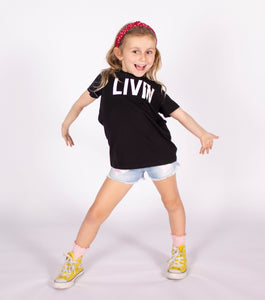 Kids Staple Tee by LIVIN