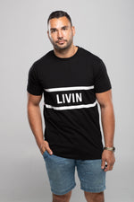 Band Tee by LIVIN