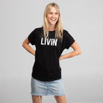Lift Tee Black by LIVIN