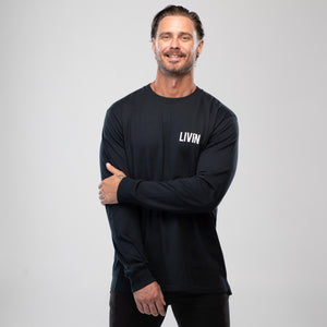 Mindful Long Sleeve Tee by LIVIN