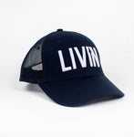 Retro Trucker Hat - Navy