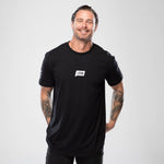Signature Tee Black by LIVIN