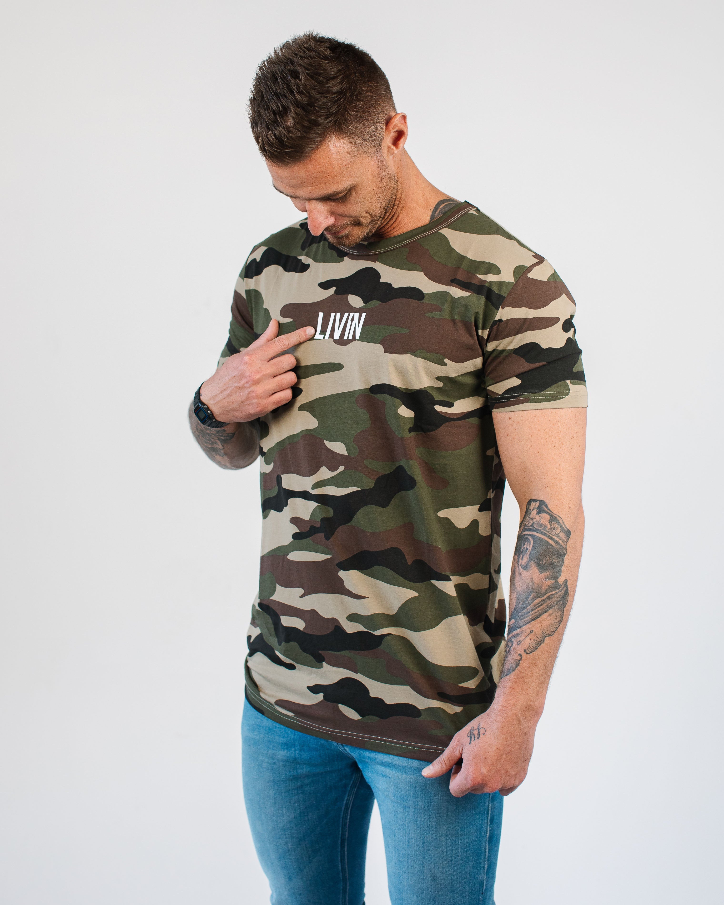 Simplify Tee Camo by LIVIN