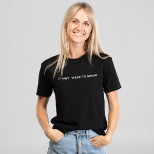 Speak Up Tee Womens by LIVIN