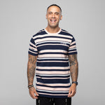 Vision Tee Navy Stripe by LIVIN