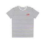 Vision Tee White Stripe by LIVIN