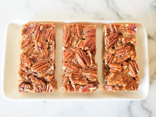 Maple Bourbon Pecan Pie Bars
