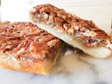 Load image into Gallery viewer, Maple Bourbon Pecan Pie Bars