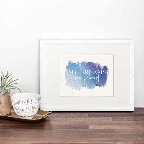 My Dreams are Sacred Art Print