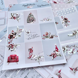 Cosy Christmas with Silver Foil