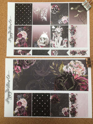 Fatale for Happy Planner with Silver Foil
