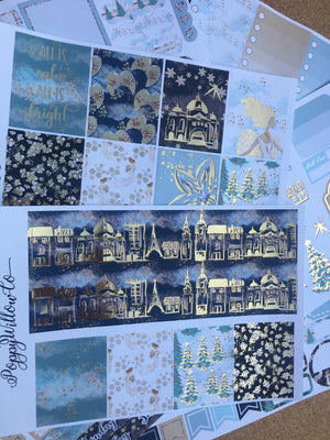 Silent Night with Gold Foil