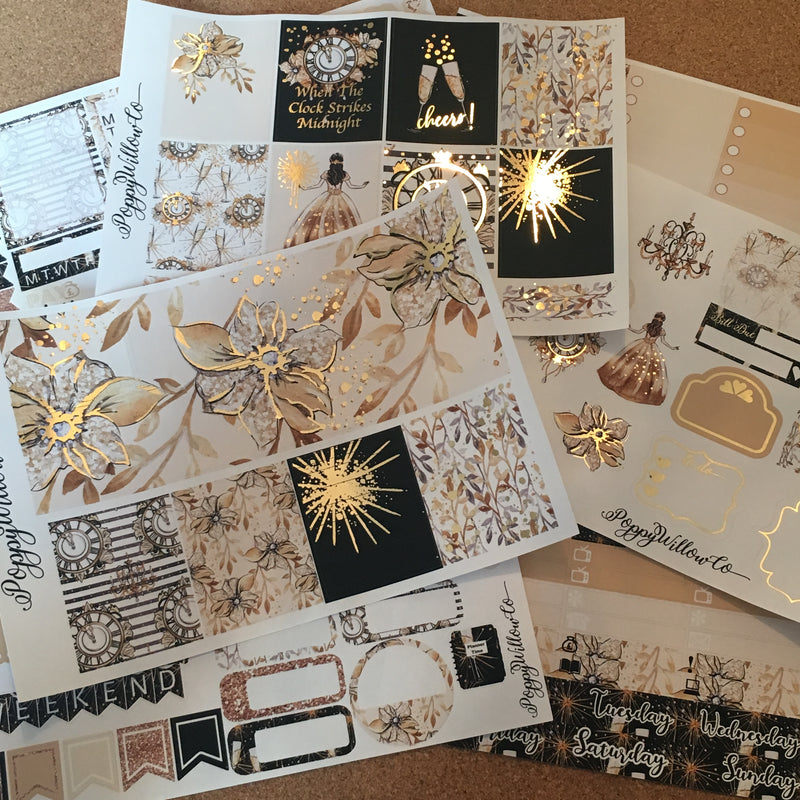 Cheers! for Erin Condren with Light Gold Foil