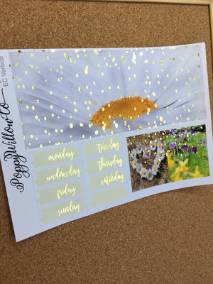Blessed for Happy Planner with Gold Foil- Photography Set
