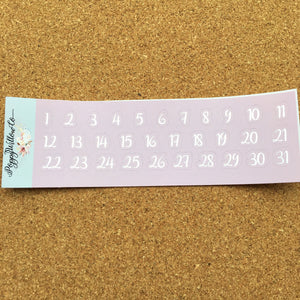 Boo! for Happy Planner with Silver Foil