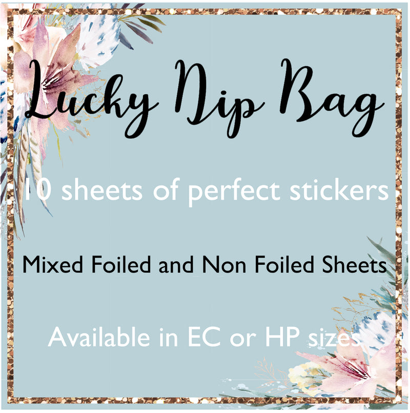 Lucky Dip Bag - 10 Sheets