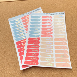 Foiled Deluxe Day Covers- Choice of Colourway and Foil