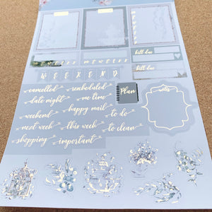 Serene with Silver or Light Gold Foil