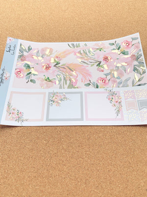 Sophie Monthly for Erin Condren with Light Gold Foil