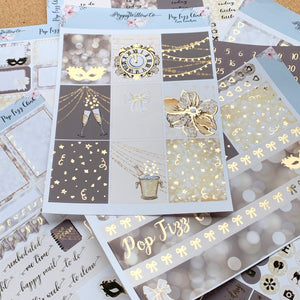 Pop Fizz Clink with Light Gold Foil