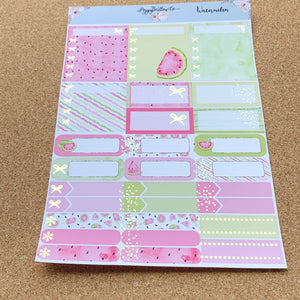 Watermelon 2 Monthly for Erin Condren with Gold Foil