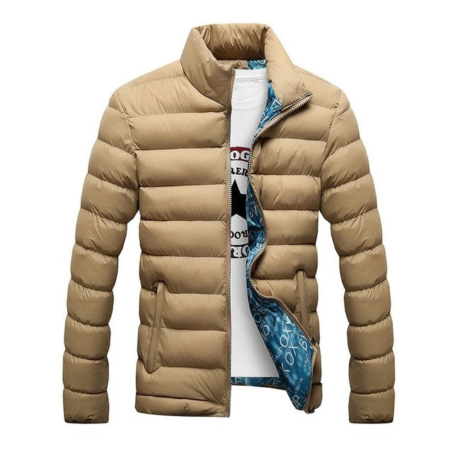 2018 Winter Jacket Windproof Male Down Coat Parka Plus Size 5XL