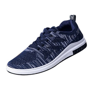 Men Light Sneakers Breathable Mesh Casual Shoes Walking Outdoor Running Shoes