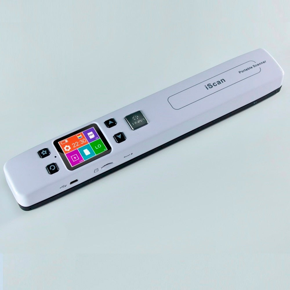 High Speed Portable Scanner A4 Size Document Scanner