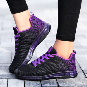 Flying Woven Shoes Air Cushion Sneakers