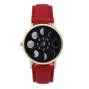 Women Phase Moon Lunar Watch Change Bracelet Design