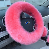 Fur Steering Wheel Cover