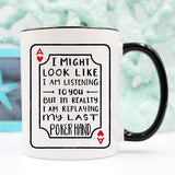 Poker Coffee Mug, Poker Player Gifts, Poker Gifts,