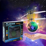 RC Flying Ball Drone Helicopter Ball Built-in Shinning LED Lighting for Kids Toy