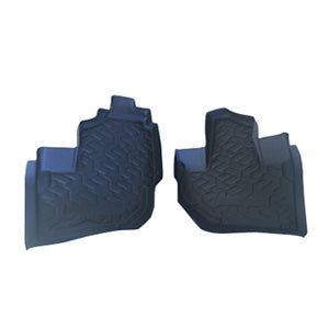 Kawasaki Teryx Formed Rubber Front Floor mats Liners 2014 2015 2016 2017 2018