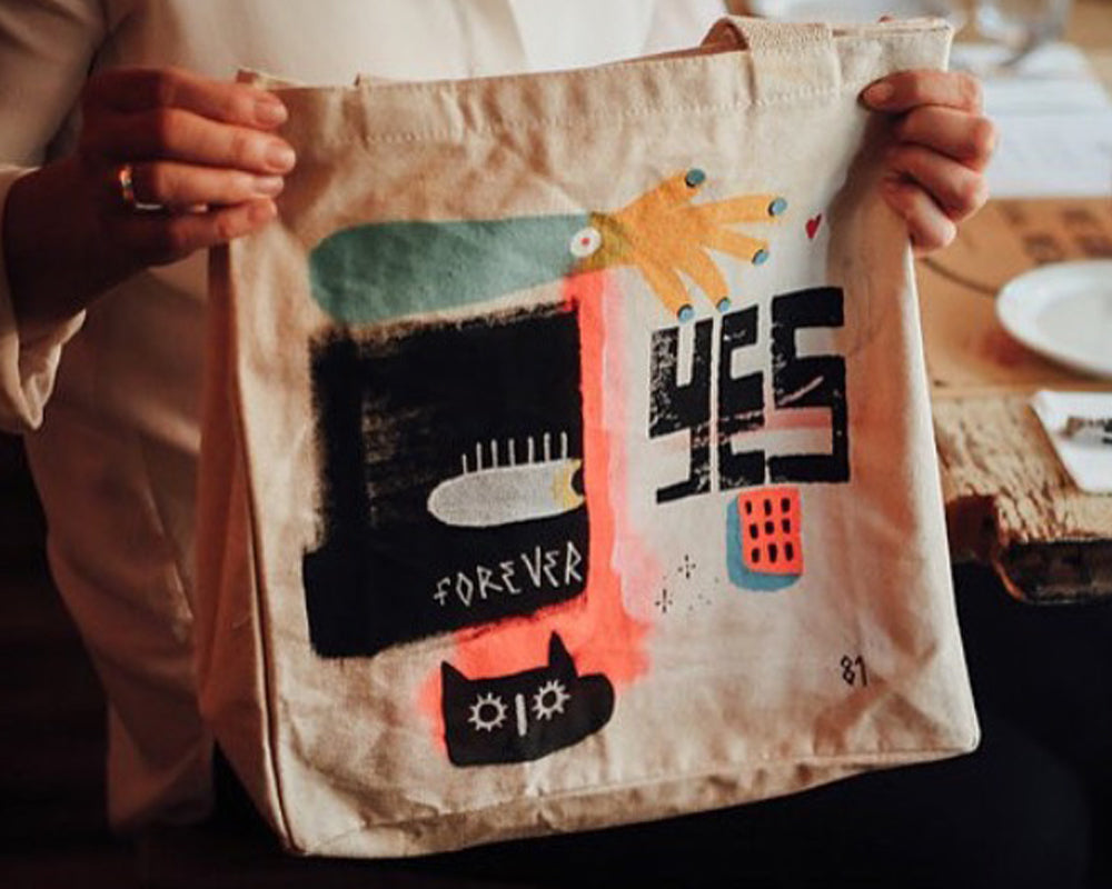 FEED Supper Custom Bag
