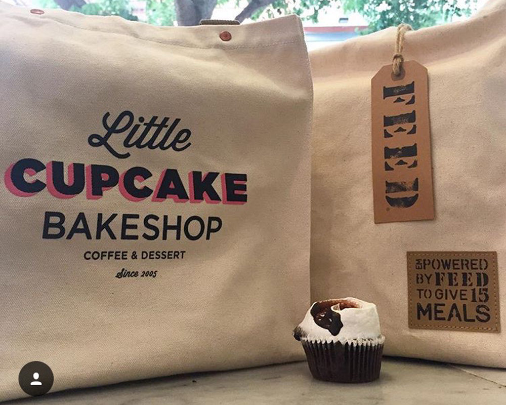 Little Cupcake Bakeshop Custom Bag