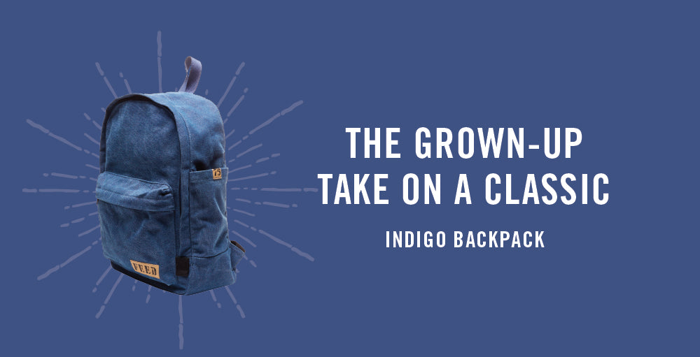 FEED Backpack in Indigo