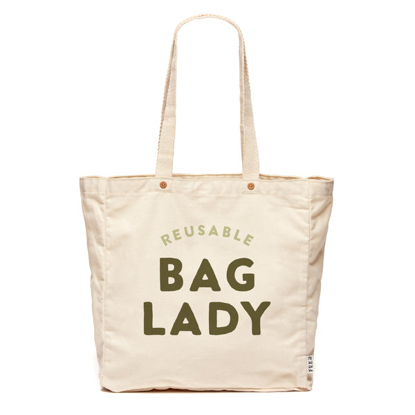Reusable Bag Lady
