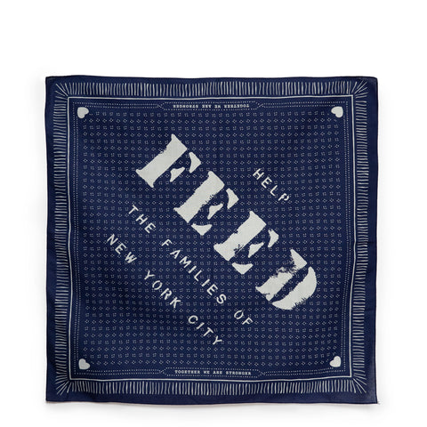 NYC FEED Relief Bandana