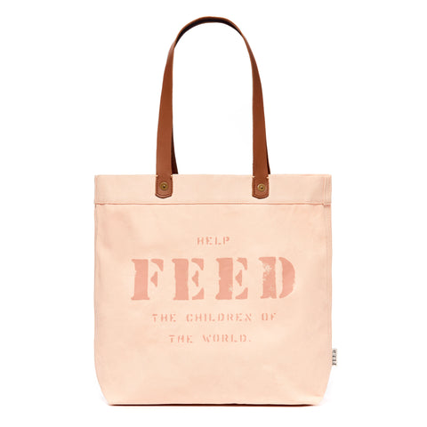 Pink Canvas Harriet Tote