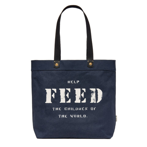 Navy Canvas Harriet Tote