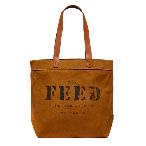 Ochre Canvas Harriet Tote