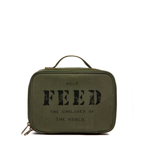 Dark Green Lunch Box